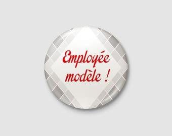"""Employée"" badge"