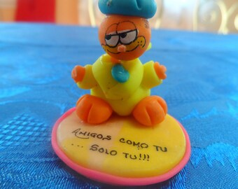 garfield cat resin base
