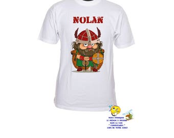 shirt pattern child viking customizable ref 81
