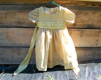 Little Girl's Vintage Party Dress