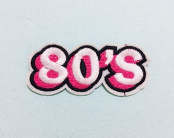 80S Patch - Iron on patch