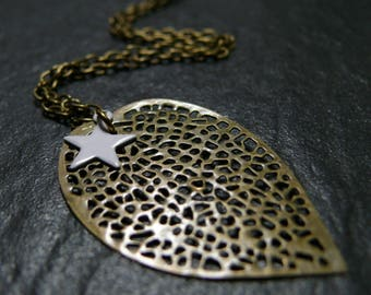 White Stars necklace