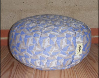 "Meditation cushion ""Blue"" organic"