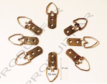 8 clip hooks for fixing to frame painting, canvas large Resistantse mirror frame.