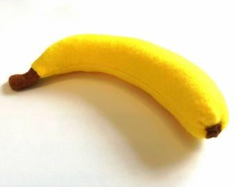 Banana fruit dinette felt food market