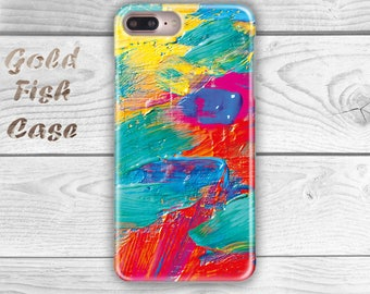Pastel Iphone 7 Case Colorful iPhone 7 Case iPhone 6 Plus Pastel iPhone 7 Case Paint iPhone 6S Case iPhone 5S Case iPhone 7 Plus s071