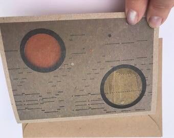 Orange Orbital Shift gift card