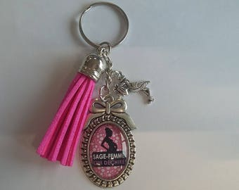 Keychain wise woman
