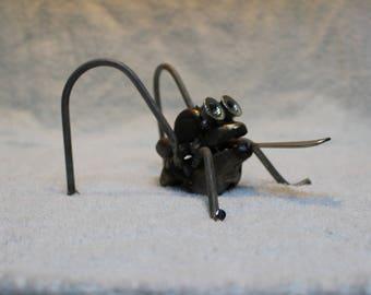Welded Metal Art Frog