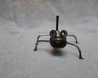 Welded Metal Art Lizard