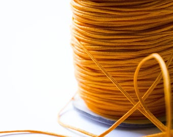 Wire Nylon braided Orange 1.5 mm x 1 meter