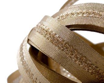 Ribbon Lurex Gold 2.2 centimeters x 1 meter