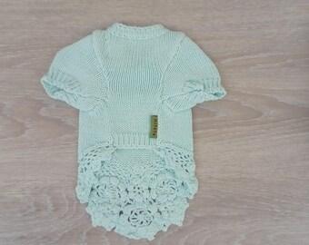 Nice for small dog wool dress