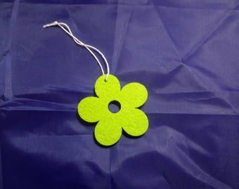 hanging felt flower
