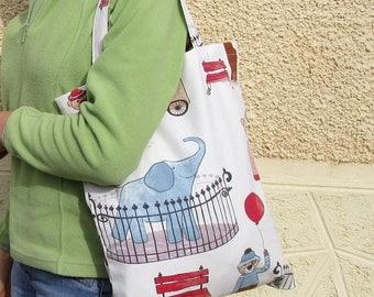 Tote bag printed tote bag, tote bag