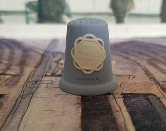 "Wedgwood Thimble ""Los Angeles 1984"""