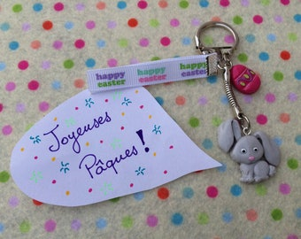 """Easter Bunny"" keychain"