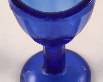 Vintage Cobalt Blue Eyewash Cup