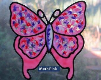Glassyart Clings: Moth Butterflies Various
