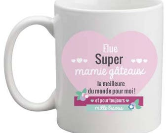 Mug, personalized mug, Grandma mug
