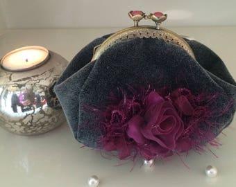 retro, vintage purse, shabby, Victorian, Victorian