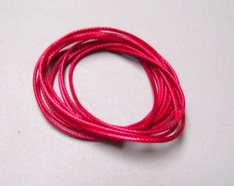 1 meter 1 mm bright red thread.