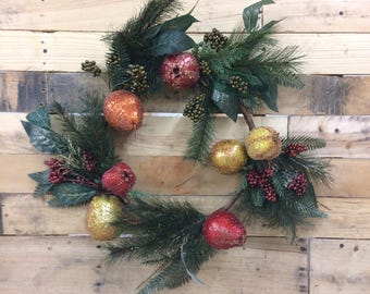 Pine Swag Wreath