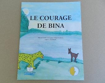 "African ""courage to Bina"" storybook children's book wisdoms africaies"