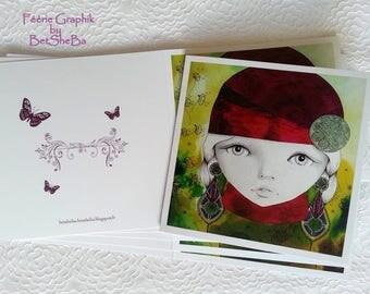 """Art card """"La Bohème"""""""