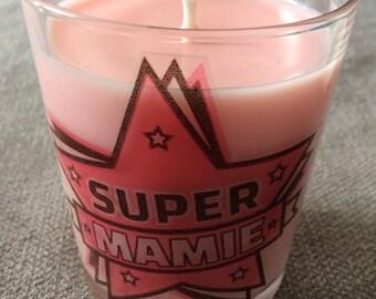 Candle craft 150 grams custom Super MOM, Super Grandma