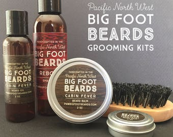 Bigfoot Beards Cabin Fever Grooming Kit