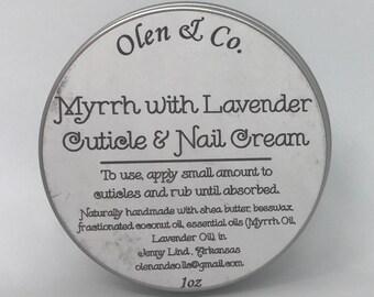 Myrrh with Lavender Cuticle and Nail Cream