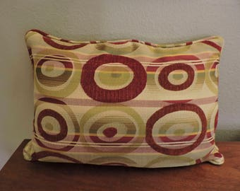 Retro Mid-Century Modern throw pillow