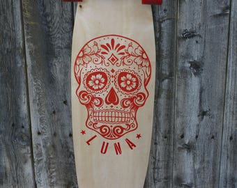 Custom hand made long board