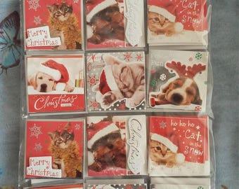 SET OF 24 GIFT TAGS FOR CHRISTMAS