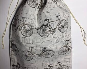 Handmade shoe bag for travel