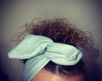 blue magic headband chic