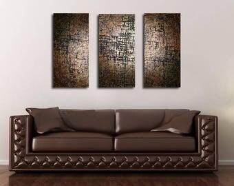 Art for office, Masculine wall art, abstract painting, Modern wall art,  ORIGINAL