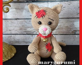 Cat, Amigurumi crochet plush