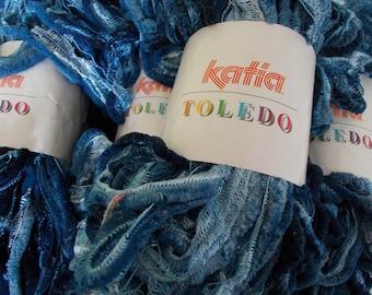 "1 set of 4 balls of yarn TOLEDO ""KATIA"" 100 polyester"