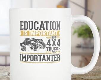 4x4 Coffee Mug Funny Gift Idea