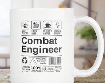 Combat Engineer Coffee Mug Funny Tea Cup Gift Idea