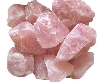The Brazil extra raw rose quartz