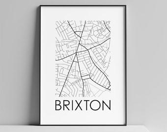 Brixton, London Maps