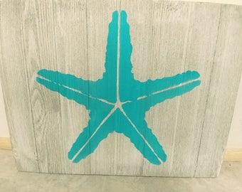 Seastar painting