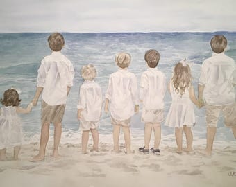 Watercolor portrait Add-ons