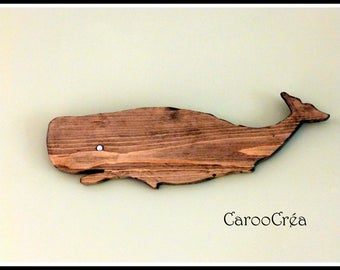 wooden whale, whale, whale wood pallet, fretwork, marine decoration, nautical decor