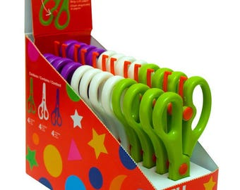 Preschool scissors 13 cm - APLI Kids - Ref 12821 (sold separately) - scissors child