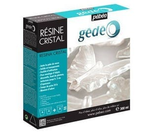 Kit resin Crystal 300 ml - Pebeo Gedeo - Ref 766334