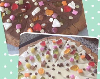 Homemade Cookie Pizza